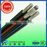 95mm2*4 core ABC AERIAL BUNDLE CABLE/service drop cable factury supply price