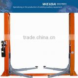 Launch hydraulic double cylinder 2 post car lift