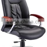 Sunyoung 2015 high quality hot seller black High/Medium back Leather office chair price with BIMFA approved