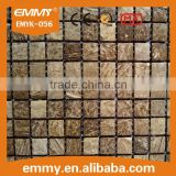 light nature material mesh backing 20*20cm mosaic tile price for indoor decoration