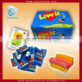 Love is Chewing gum with comic strip paper                                                                                         Most Popular