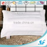 baffle style hollow fiber fill hotel pillow cotton sham