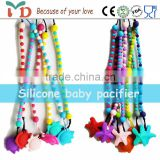 New fashion item plastic label clip holder pacifier chain clip