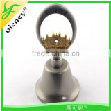 Tourist Souvenir Custom Made Metal Dinner Bell