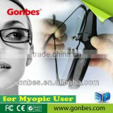 New Model!! CLIP-ON 3D Active Glasses with IR, Bluetooth, DLP-Link Signal, competible price from Gonbes