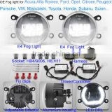 Led drl fog light for Renault Scenic MEGANE SCENIC drl fog lamp for Renault Megane II with CE E4 Approval
