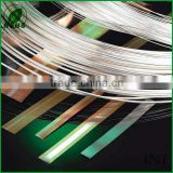 Chinese factory low price with high quality silver clad brass strip