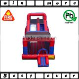 most popolar and super attractive inflatable bouncer and slide, kids air jumper playground prices for sale