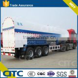 hot selling 2axles iso lng container tank CITC oxygen tank semi trailer new product of china