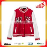 New arrival 2015 hot sell ladies baseball jackets