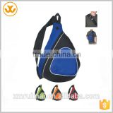 Sport Sling Backpack With Mesh Cell Phone Holder /Triangle backpack