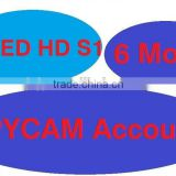 Sell SPYCAM renewal account with 6 months for Speed hd s1 for Africa