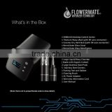 2016 Newest product FLOWERMATE ITHIT Tem adjustable104-716F New Electronics Dry Herb Vaporizer 3 In 1 dry herbal chamber