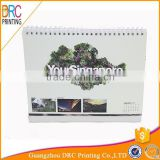 Chinese Wholesale Custom Cardboard Made Table Calendar Printing