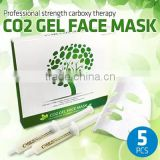 [CO2 GEL FACE MASK]mask sheet co2 professional carboxy/carboxy co2 gel mask pack
