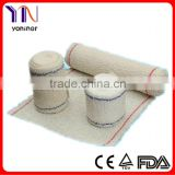 100% cotton crepe bandage CE FDA Certificated Manufacturer