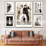 wooden and leather digital photo frame korea designs