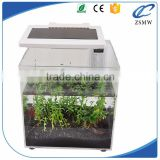 wholesale price acrylic aquarium fish tank bar counter aquarium fish tank with led for sale MW-A-156                                                                                                         Supplier's Choice