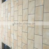 hot sale light Yellow Sandstone, China Sandstone building material, Sandstone wall tiles