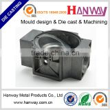 die casting aluminum CNC machining blow injection moulding sand blasting OEM valve parts