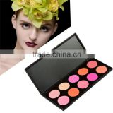 Wholesale professional make up OEM factory blusher/beauty blush palette