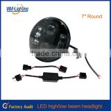 "New products 7"" jeep headlight,car,bike accessories,n issan parts"