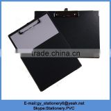 2016 Clipboard with metal protective corner clipboard with paper ruler board
