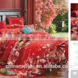 Wedding Bedding Set 40S Jacquard duvet cover set Bed sheet bed linen bedclothes Home textiles