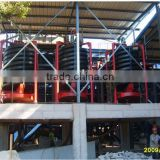 Zircon ore mining plant spiral chute separator, large capacity spiral concentrator chute for zircon ore separation
