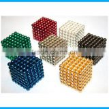 Wholesale 5mm magnet balls magic cube magnet toys for Christmas gift
