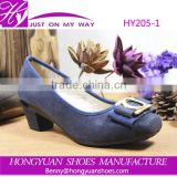 Wholesale China cheap ladies office wear shoes wedge dress shoes