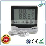 Digital Barometer Thermometer Hygrometer Clock With Temperature Sensor for Baby Room