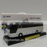 China bus model factory, cheap mini bus toy, Promotional bus miniature, hot sale business gift