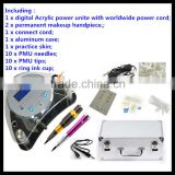Permanent Makeup Machine Digital Tattoo Kit,New Design Permanent Makeup LCD Power Machine Tattoo Kits