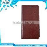 2015 New Trendy High Grade PU leather Vintage Case For HTC BUTTERFLY S with magnet close up