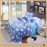 Manufactory wholesale 100%polyester home textile organic swaddle blanket king size bed cover set