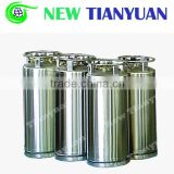 197L Volume DPL Liquid Nitrogen Thermal Insulating Cylinder