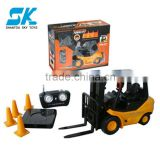 !rc truck 1:10 rc mini racing car klift rc toy car with CE ROHS rc truck rc car toy container truck