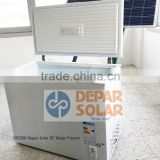 200L Solar Deep Freezer 12/24VDC A+ for Village, Camp, Caravan, Africa, Rural Electrification System