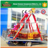 Trailer mounted amusement ride swing type pirate ship for sale