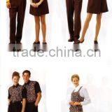 restaurant waiter uniform/bar staff uniforms/003