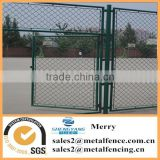 galvanized or plastic coated outdoor/outside basketball field chain link fence with framework gate