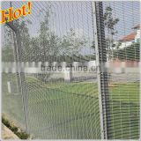 Steel Metal Type and Powder Coated Frame Finishing 358 anti-climb security fence prison mesh