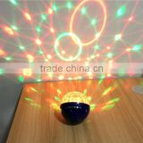 Wholesale Hot Sell Mini Laser Projector Effect RGB LED Stage Light DJ Controller Disco Ball Stage Light