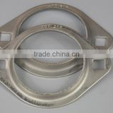 Stainless steel pressed bearing housing PFL207 PFL208