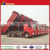 Howo 6x4 chinese Mine used Howo Dump Trucks for Sale lift Truck 336HP/371HP HW76 cab For Sale