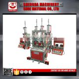 Taiwan Sport Shoe Machine Suppliers Backpart Moulding Equipment Vertical Molding Machinery Equipment