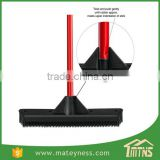 Slanted Side Sweep Clean Soft Rubber Broom Brush