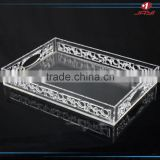 custom Plexiglass jewelry display showcase for jewelry/cosmetics shop/ OEM wholesale acrylic trays