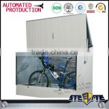 Durable outdoor metal storage cabinet waterproof bike lockers for sale